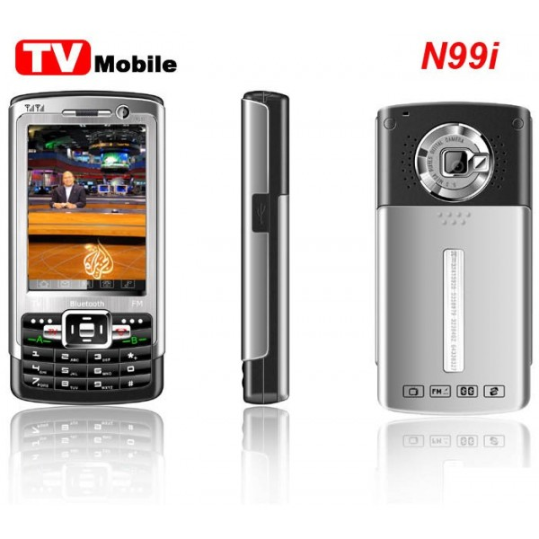 N99i Tri-band FM TV Mobile Phone - Dual SIM Cards Stand-by